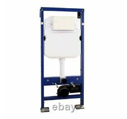 Wall hung toilet With Frame and Cistern
