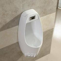Wall-mounted Hung Urinal WC Pee Processor InductionFlush Ceramic Wall Urinal