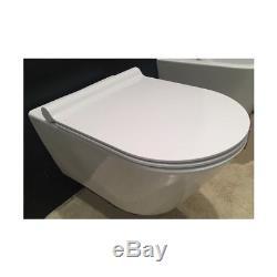 Wc Wall Hung Toilet Catalano Zero 55 New Flush 1vs55nr00 Seat Soft Close Plus