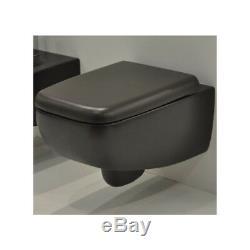 Wc Wall Hung Toilet Gsg Lilac Model Black Matt Wall Hung Wc